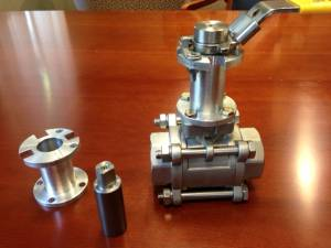 Valve Exension Custom Machining
