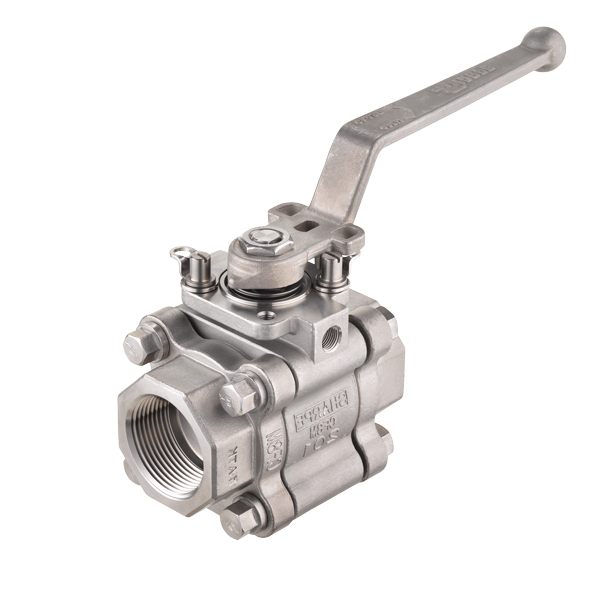 SHARPE Series 80/89 High Performance 3-Piece Ball Valve