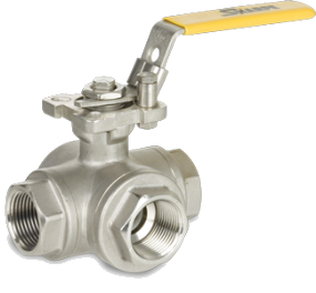 SHARPE Series 76 3-Way Ball Valve