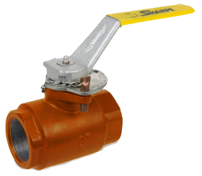 SHARPE Oil Patch Carbon Steel Ball Valve 2500 PSI