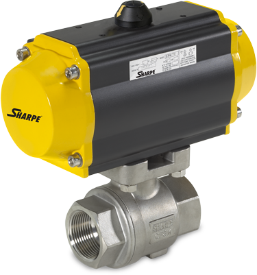 SHARPE Series 12 2-Piece Direct Mount Ball Valve