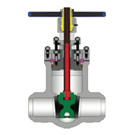 POWELL VALVES Cast Steel Pressure Seal Gate Valves