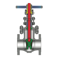 POWELL VALVES Cast Steel Bolted Bonnet Gate Valves