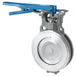 POWELL VALVES Series QF Quarter-Flex High Performance Butterfly Valves – Aluminum